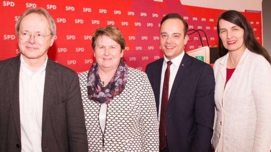 Dr. Jörg Rodenwaldt, Johanne Modder, Maximilian Schmidt, Kirsten Lühmann